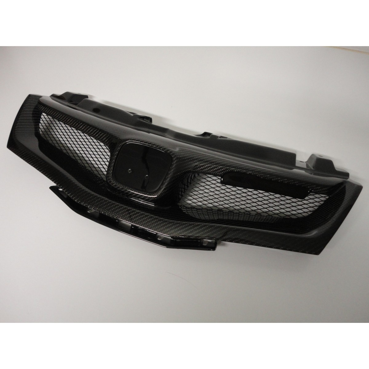 honda civic fn m style grill carbon   body styling   civic