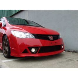 CIVIC 2006 SALOON M-STYLE JDM RR FRONT BUMPER WITH SPOTS