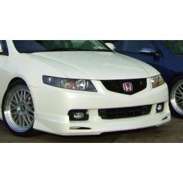 Honda Accord M-Style front lip spoiler (03-06) model (PU Material)