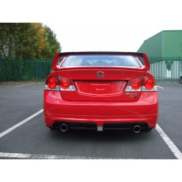 CIVIC 2006-10 SALOON M-STYLE JDM RR REAR BUMPER EXTENSION
