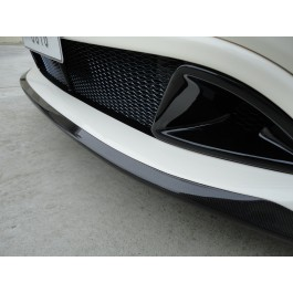 HONDA CIVIC FN2 FN1 FN  M-STYLE FRONT BUMPER UNDERSPOILER WITH CARBON UNDERTRAY