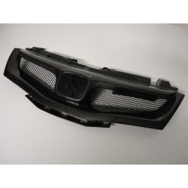 HONDA CIVIC FN M-STYLE GRILL CARBON