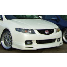 Honda Accord M-Style front lip spoiler (03-06) model (PU Material)