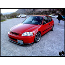 CIVIC 96-98 POLYURETHANE SPOON FRONT LIP